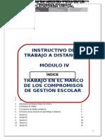Instructivo Del Módulo IV