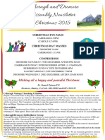 Caheragh and Dromore Assembly Newsletter Christmas 2015web