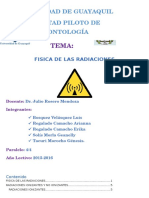 Fisica de La Radiacion -Exposicion