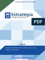 PDF Tribunal Regional Do Trabalho Do Mato Grosso 23a Regiao Portugues p Trtmt Todos Os Cargos Aula