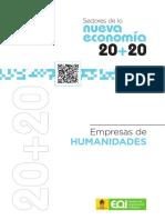 EOI_Sectores de La Nueva Economia_Empresas de Humanidades