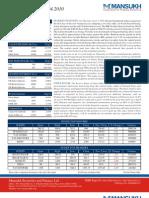 Moneysukh Market insight report 5/4/10