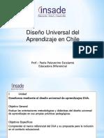 Dua- Clase 1diseno Universal Del Aprendizaje en Chile