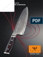 Yaxell Knife Catalogue