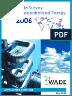 World Survey of Decentralized Energy 2006