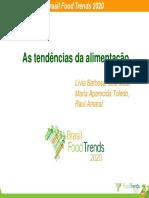 Tendencias Alimentacao Food Trends 2020