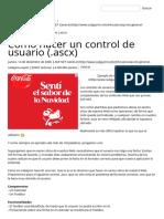 Crear Control de Usuario