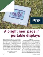 portable display
