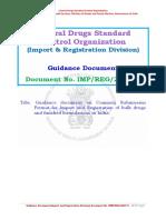 Guidance Documents API