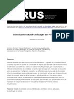 Hildizia Dias - Diversidade e Educação Em Moçambique