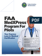 FAA MedXPress Program for Pilots