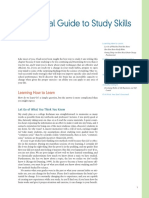 A Practical Guide to Study Skills