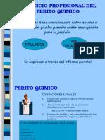 Ejercicio Profesional Del Perito Químico Unidad I Parte 1.5
