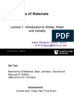 Introduction to Stress, Failure Modes and Industry