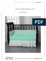 precious beginnings-crib set