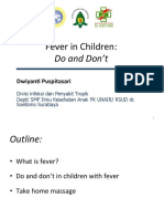 1. Fever Do n Dont PIT IDI