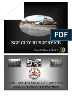City Bus Service KGF