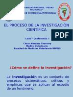 Clase-conferencia 7 El Proceso de La Investigación Científica 2015-2