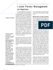 Conflicts in Joint Forest Management
