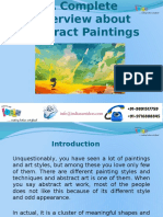 A Complete Overview About Abstract Paintings