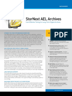 StorNext AEL Archives Datasheet