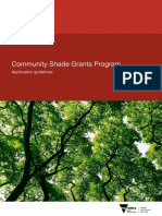 Community Shade Grants Program