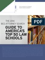 BCG Law School Guide 2014
