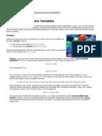 Two Discrete Random Variables
