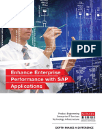 Enhance Enterprise Performance with SAP Applications - Sonata Software