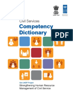 e Book Competency Dictionary for the Civil Services