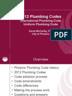 2012 Phoenix Plumbing Codes.pptx