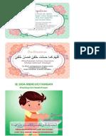 Stiker Doa