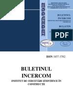 Buletin Nr.1 IncercomV1