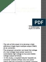 High-Efficiency Single-Input Multiple-Output DC–DC Converter