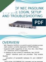 Basics of NEC Pasolink V4 (PDH).pptx