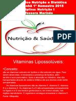 Vitaminas Lipossoluveis a D E K
