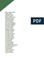 Poezie Mesterul Manole v.a.