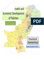 Population Growth and Economic Development of Pakistan