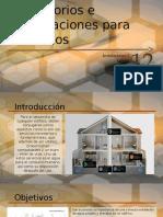 Accesorios e Instalaciones Para Edificios