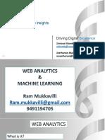 GSIB Web Analytics & Machine Learning by Ram Mukkavilli