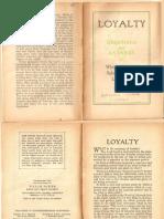 1935 - Loyalty