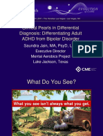 Differentiating Adult ADHD from Bipolar Disorder