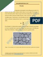 Basic Porosity Concept1