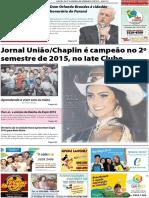 Jornal União - Edição da 2ª Quinzena de Dezembro de 2015