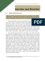 Chapter 6 Gayaberat Dan Isostasi