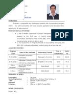 Vijay Ganesh c Resume
