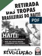 Cartaz Campanha Haiti