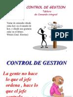 Control de Gestion en Niveles Estrategico ,Tactico, Op