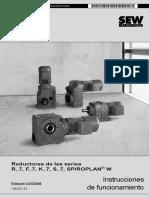 Catalogo Sew Eurodrive Reductores y Motoreductores