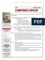 Toolbox Talks Confined Space English 0